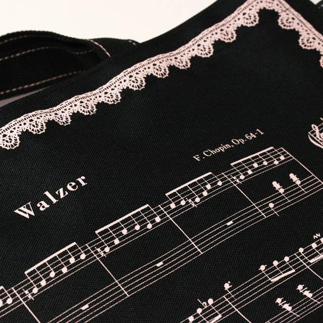 レッスンバッグ ショパン 子犬のワルツ 音楽雑貨
