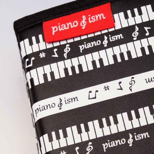 piano ism 折りたためるペンスタンド ピアノ鍵盤 音楽雑貨 発表会記念品