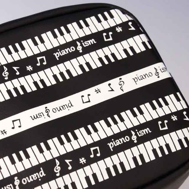 piano ism ボックスポーチ ピアノ鍵盤 音楽雑貨 発表会記念品