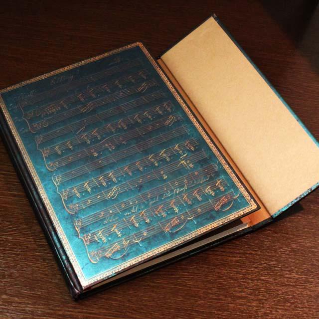 paperblanks シューベルト 魔王 罫線ノート